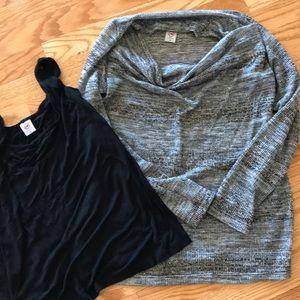 Japanese Weekend sweater w/nursing tank